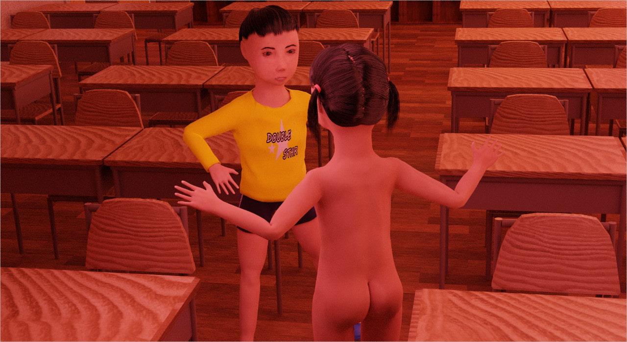 【おおきくなっても】ロリ×ショタ ~真面目な学級委員長のオナニーが大好きな男子に見つかって~