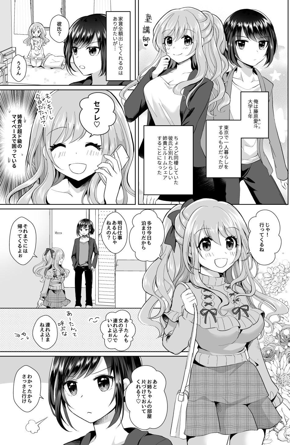 RJ316751 俺と姉貴の女のコライフ [20210206]