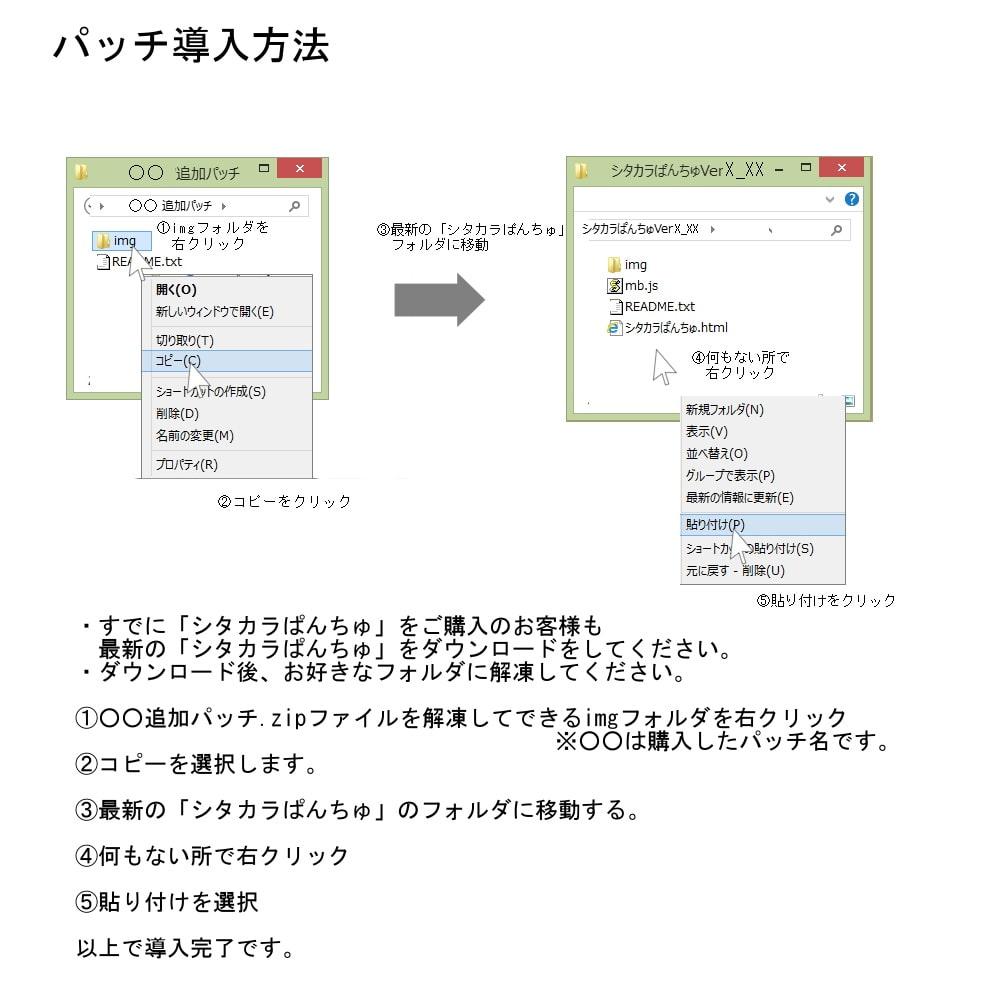 追加パッチSP125~128パック