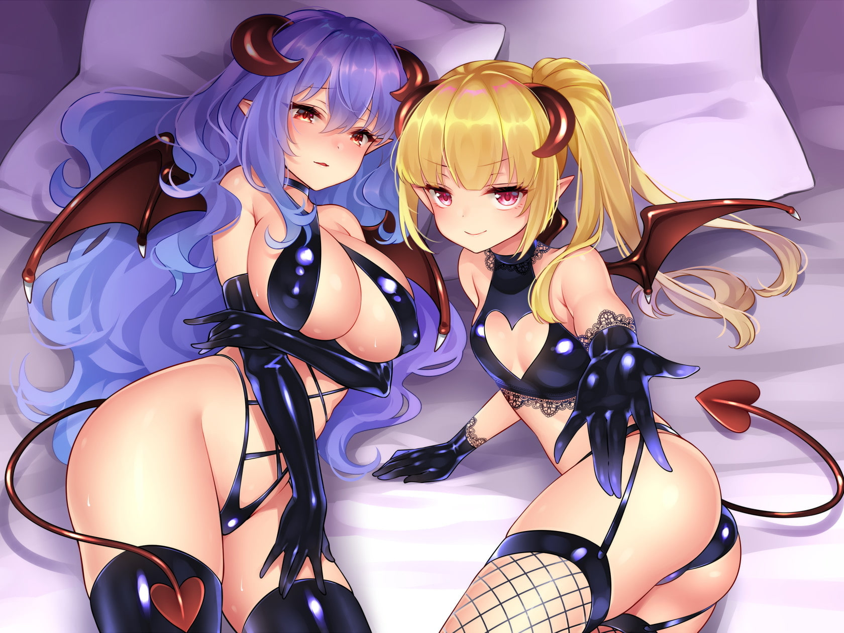 RJ317157 ダブルサキュバスのツン甘搾精~ツンデレ・甘々どっちを選ぶ~ [20210313]