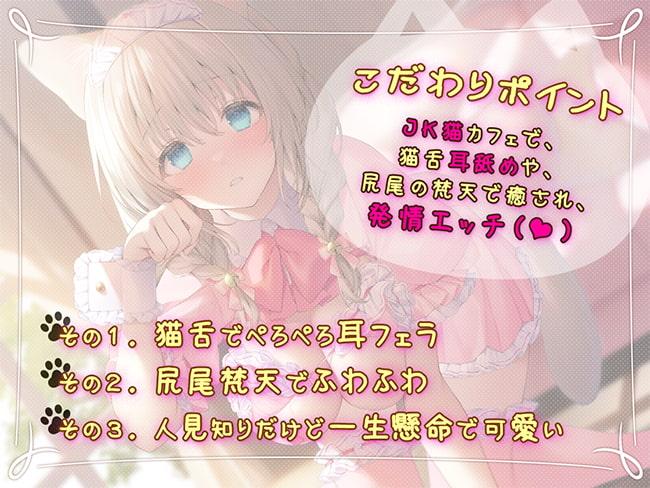 RJ317989 耳舐めのJK猫カフェ ~純情猫さやかの極上・筆おろし接客~ [20210225]