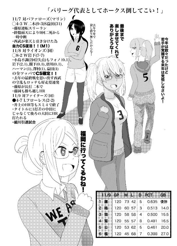 ロッテハァンの香取さん(3)