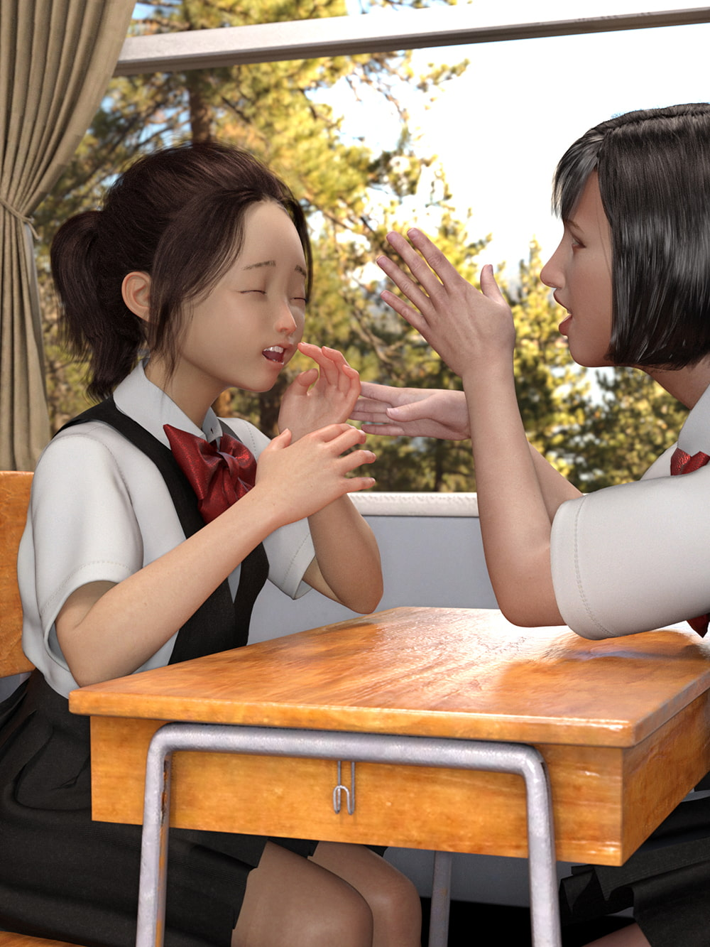 Japanese Cutie 〜露出癖が同級生にバレて人生詰んだ女子〜