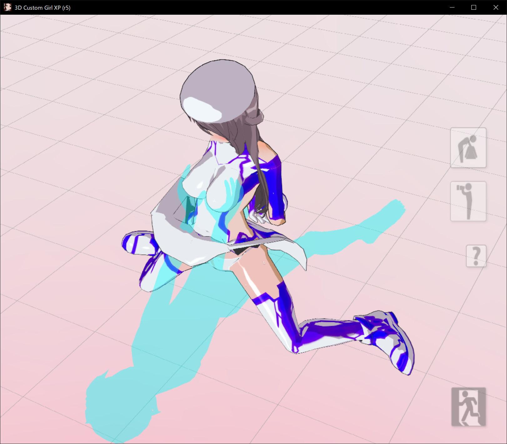 RJ319611 3Dカスタム少女改変モーション(騎乗位モーション) [20210304]