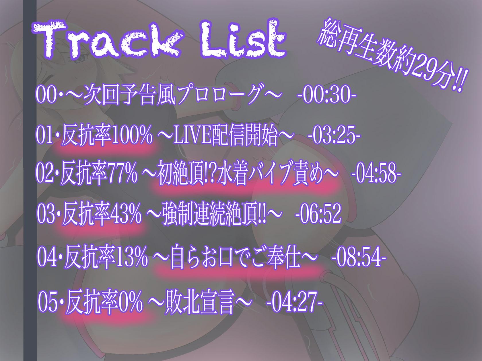 【LIVE配信中‼︎】敗北スク水ヒロイン、陵辱生配信!!