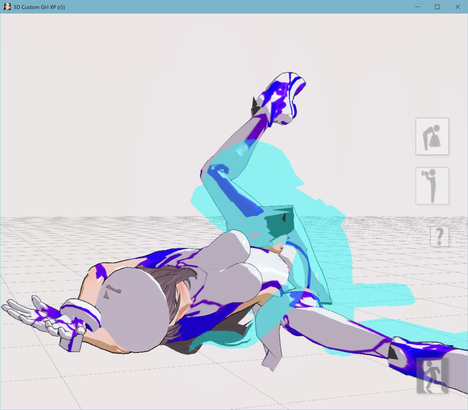 RJ321058 3Dカスタム少女追加モーション正常位smallpack2 [20210318]