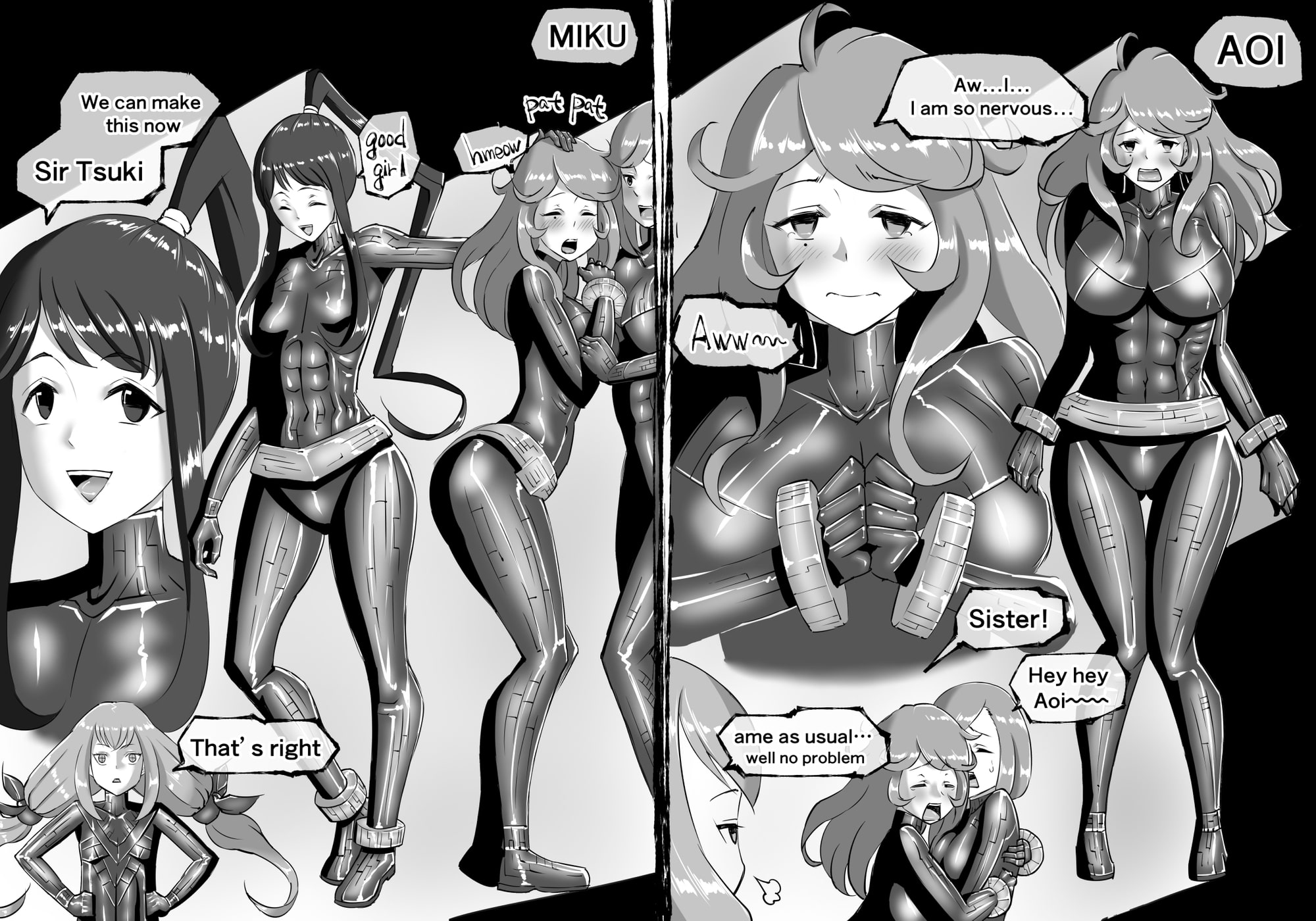 FUSION WARS -TO SAVE THE MANKIND! DIVE INTO THE PREGNANCY HELL-