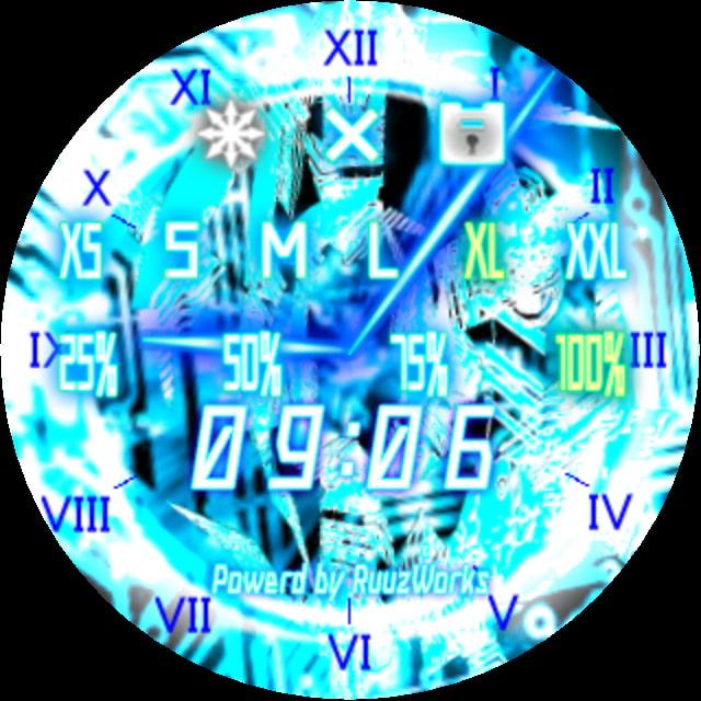 Clock2nd -Cyber- 使いやすいデスクトップ時計