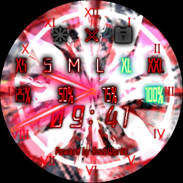 Clock2nd -Jewel- 使いやすいデスクトップ時計