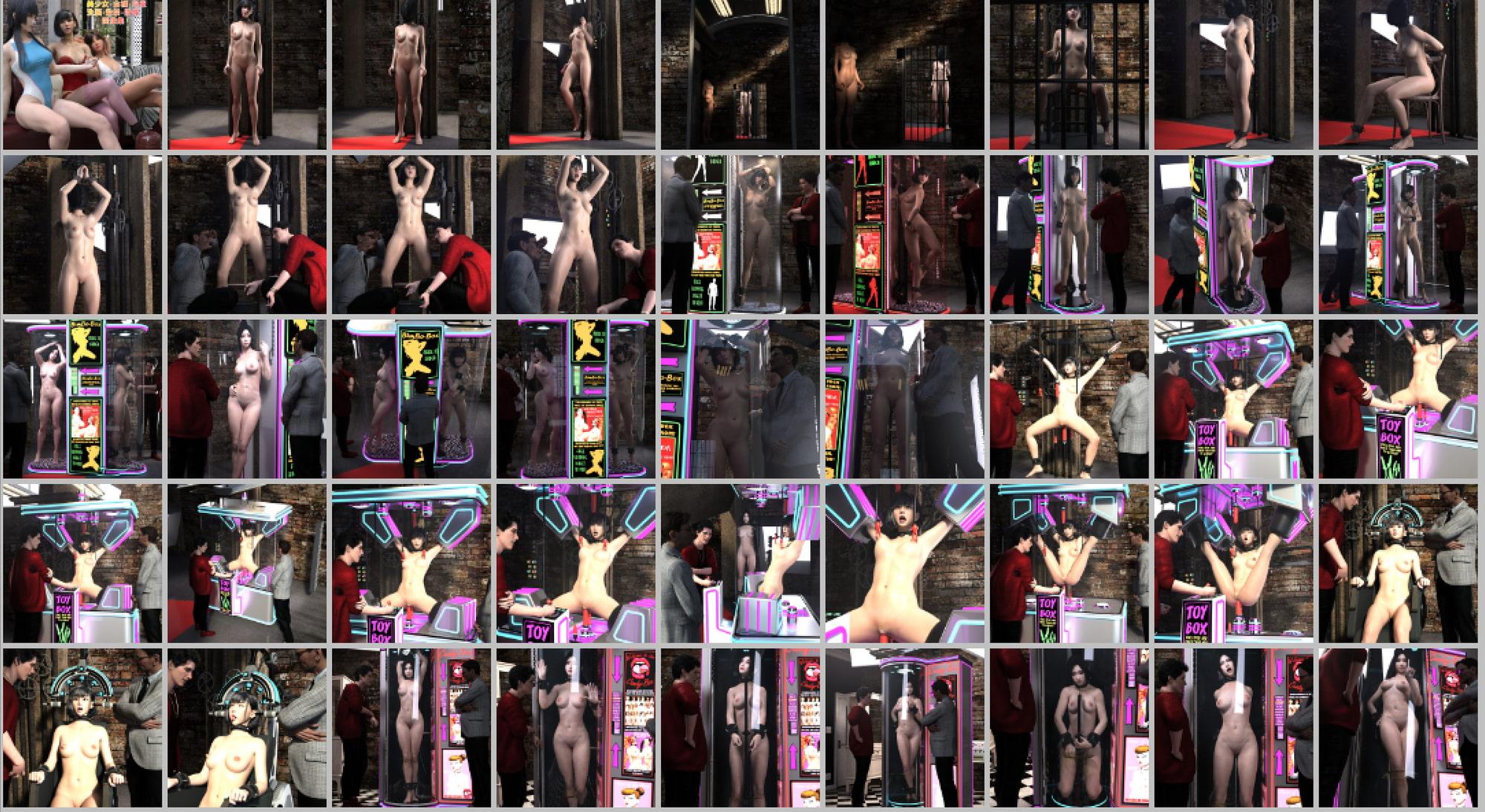 RJ322396 美少女・全裸・拘束・洗脳・監禁・陵辱画像集 [20210329]