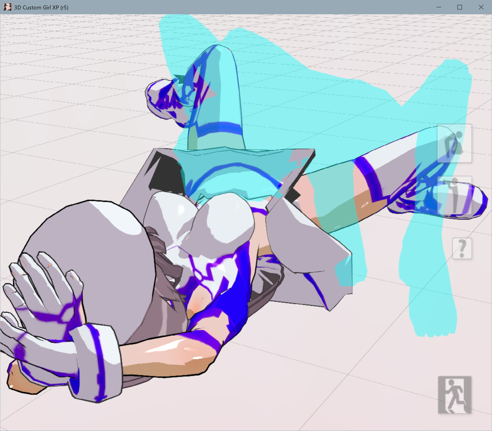 3Dカスタム少女追加モーション正常位smallpack3