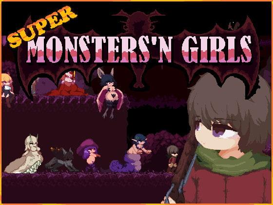 RJ323291 Super Monsters'n Girls [20210502]