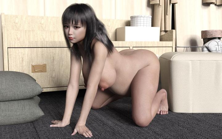 RJ323412 お部屋deヌード ~みお 臨月~ [20210408]