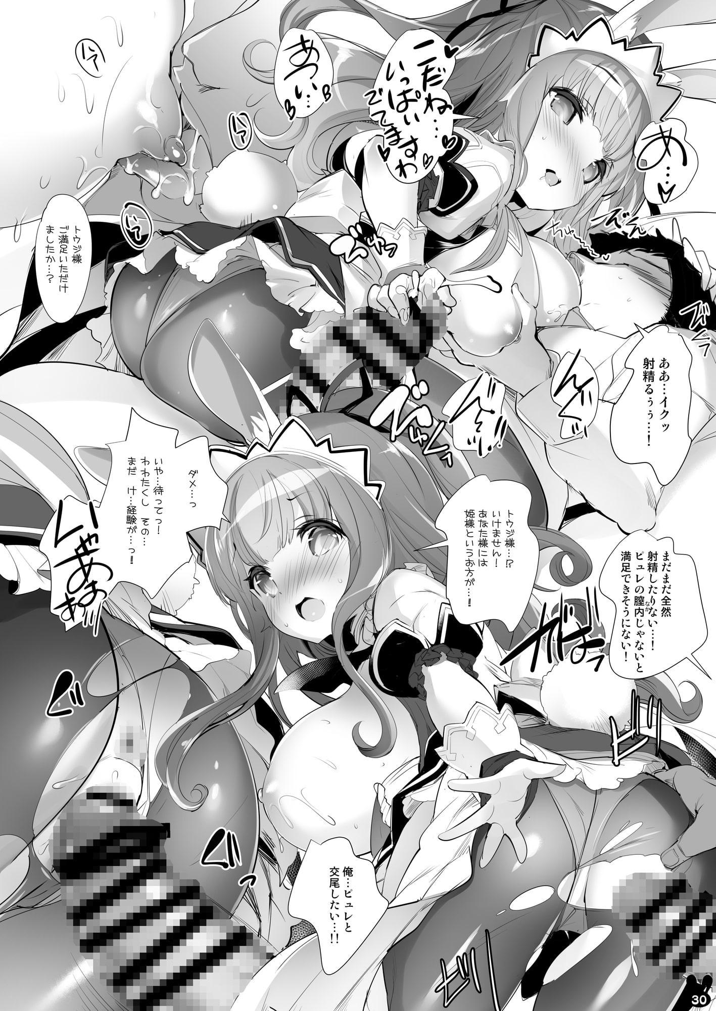 RJ323664 うさ耳プリンセスと異世界子作りライフ総集編 [20210411]