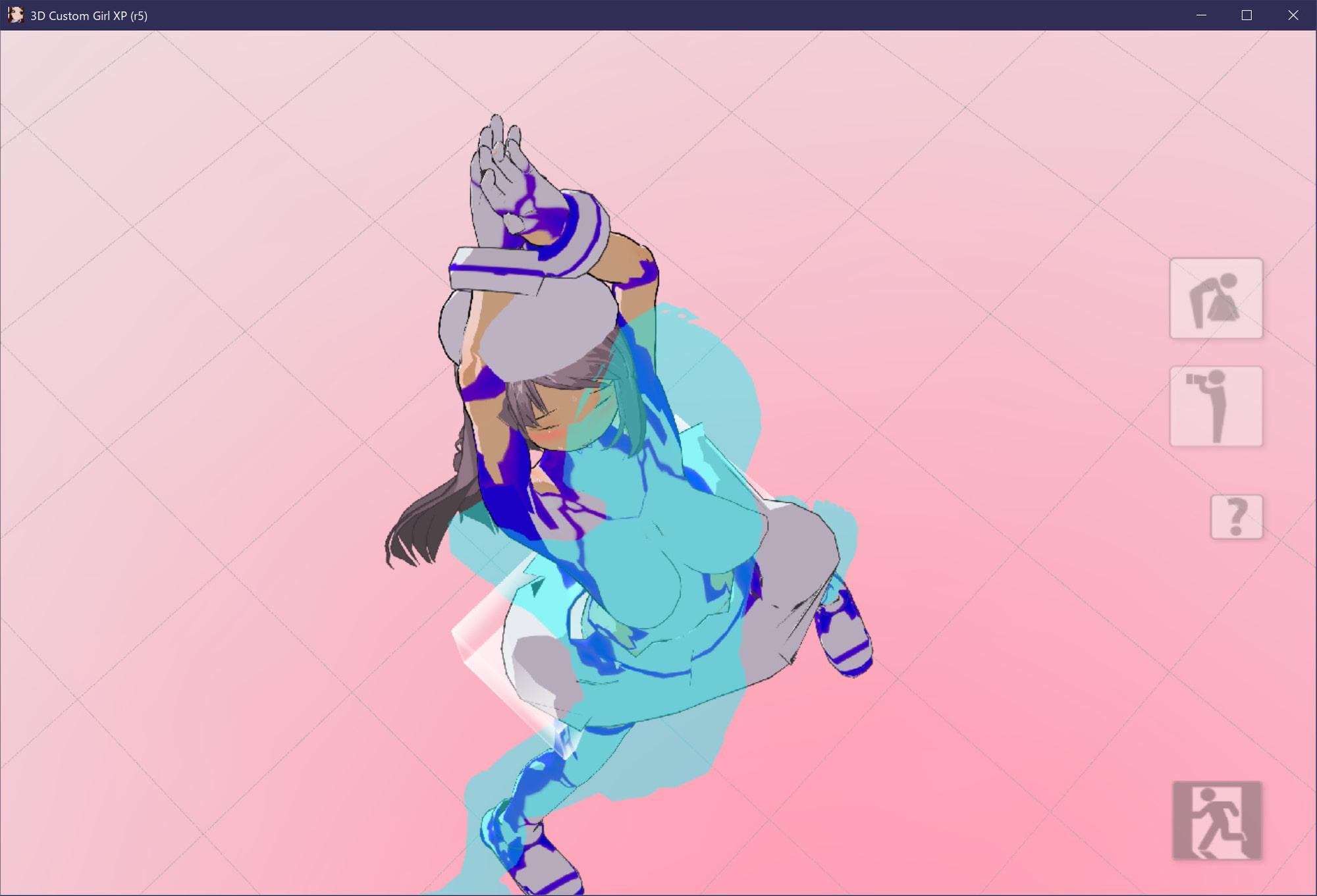 3Dカスタム少女追加モーション立位smallpack3(ぺろぺろもーしょん) (モーション作成屋) DLsite提供:同人ゲーム – ツール・アクセサリ