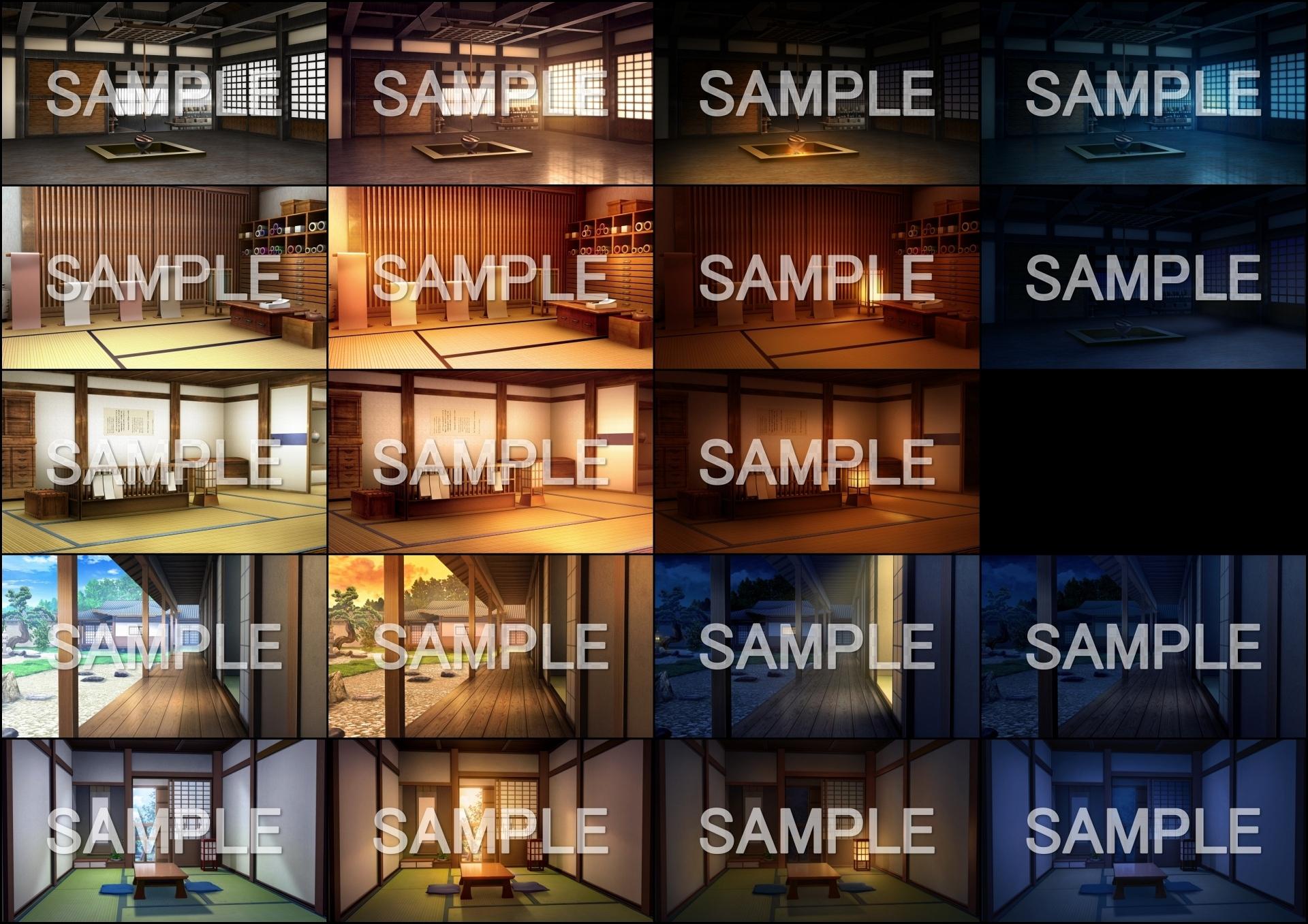 みにくる背景CG素材集『江戸編』part01(商品番号:RJ323953)