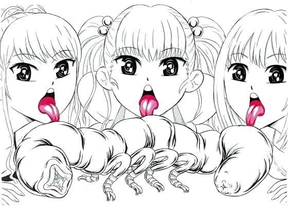 RJ324310 ビキニ少女とキモい虫 [20210429]