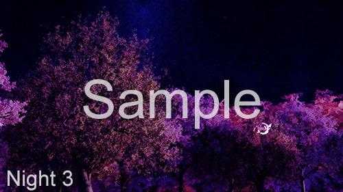 CG背景素材集(水彩スタイル):桜シリーズ-1(2Kピクセル、HDサイズ)