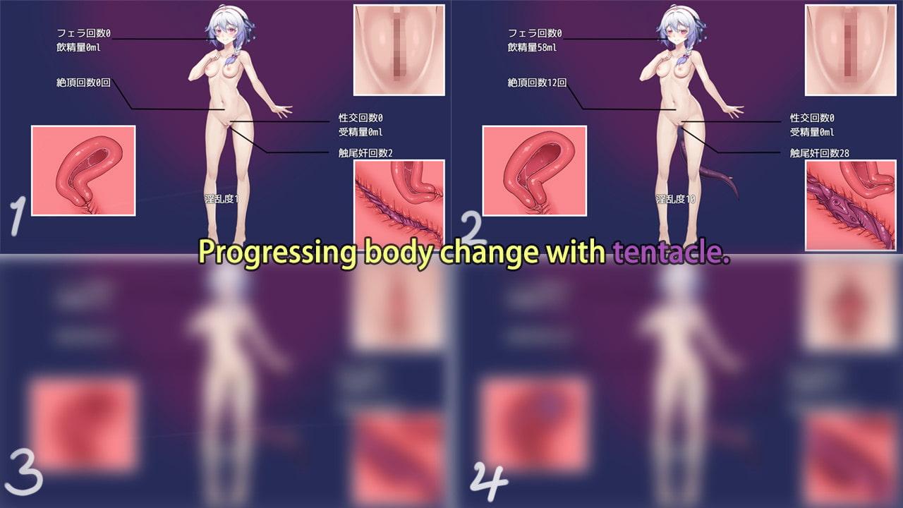 触尾少女 【English version】
