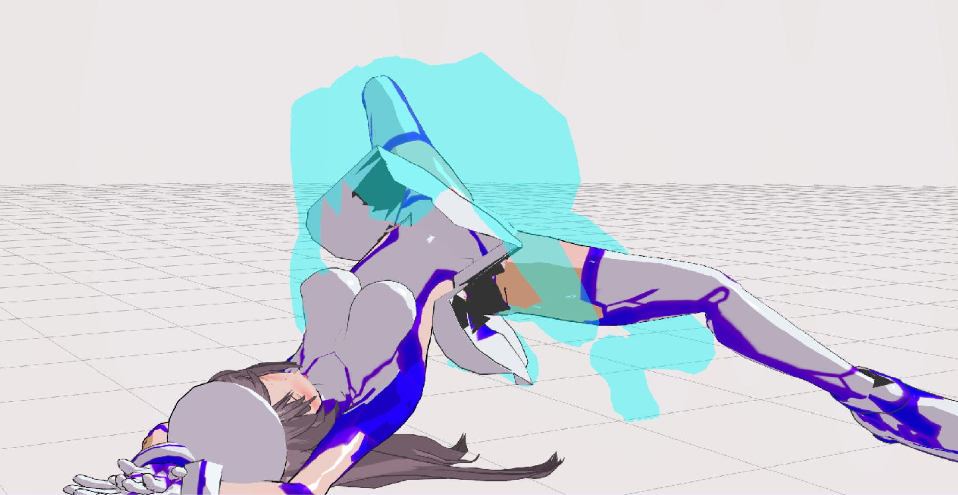 3Dカスタム少女追加モーション正常位smallpack4