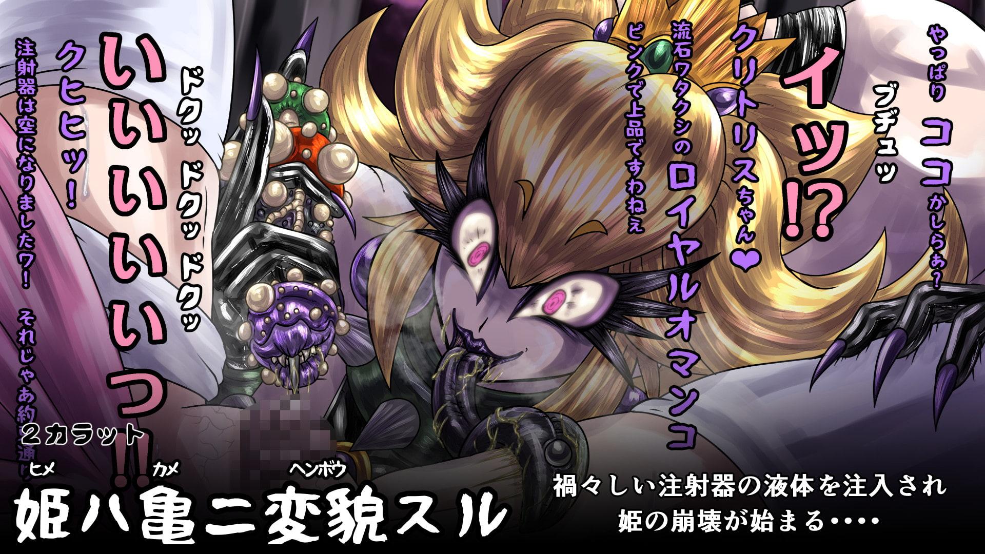 姫ハ亀ニ変貌スル3