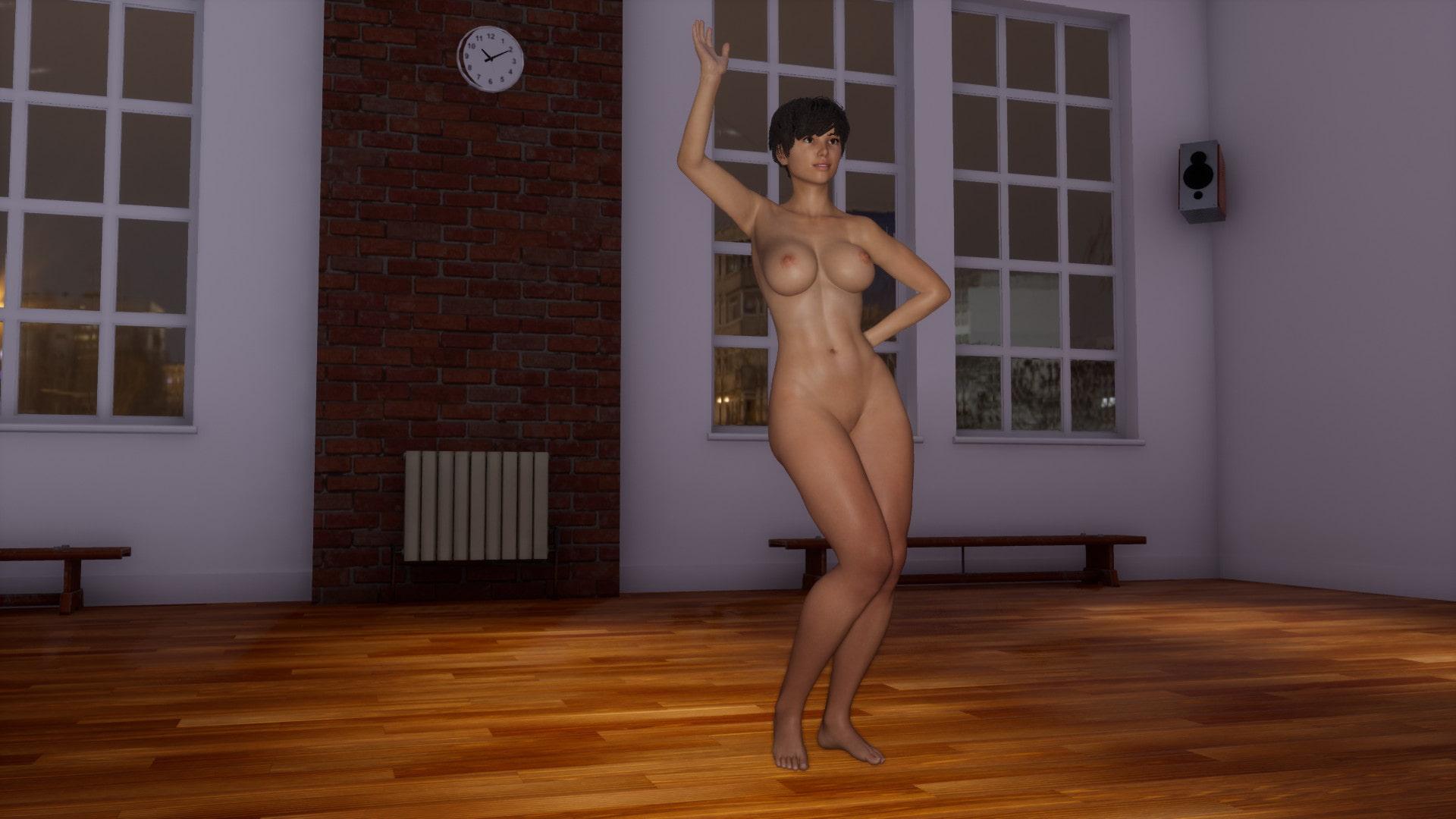 全裸ダンス360°