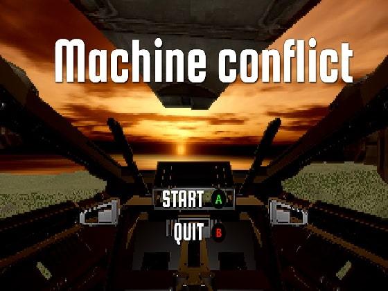 【新着同人ゲーム】Machine conflictのトップ画像