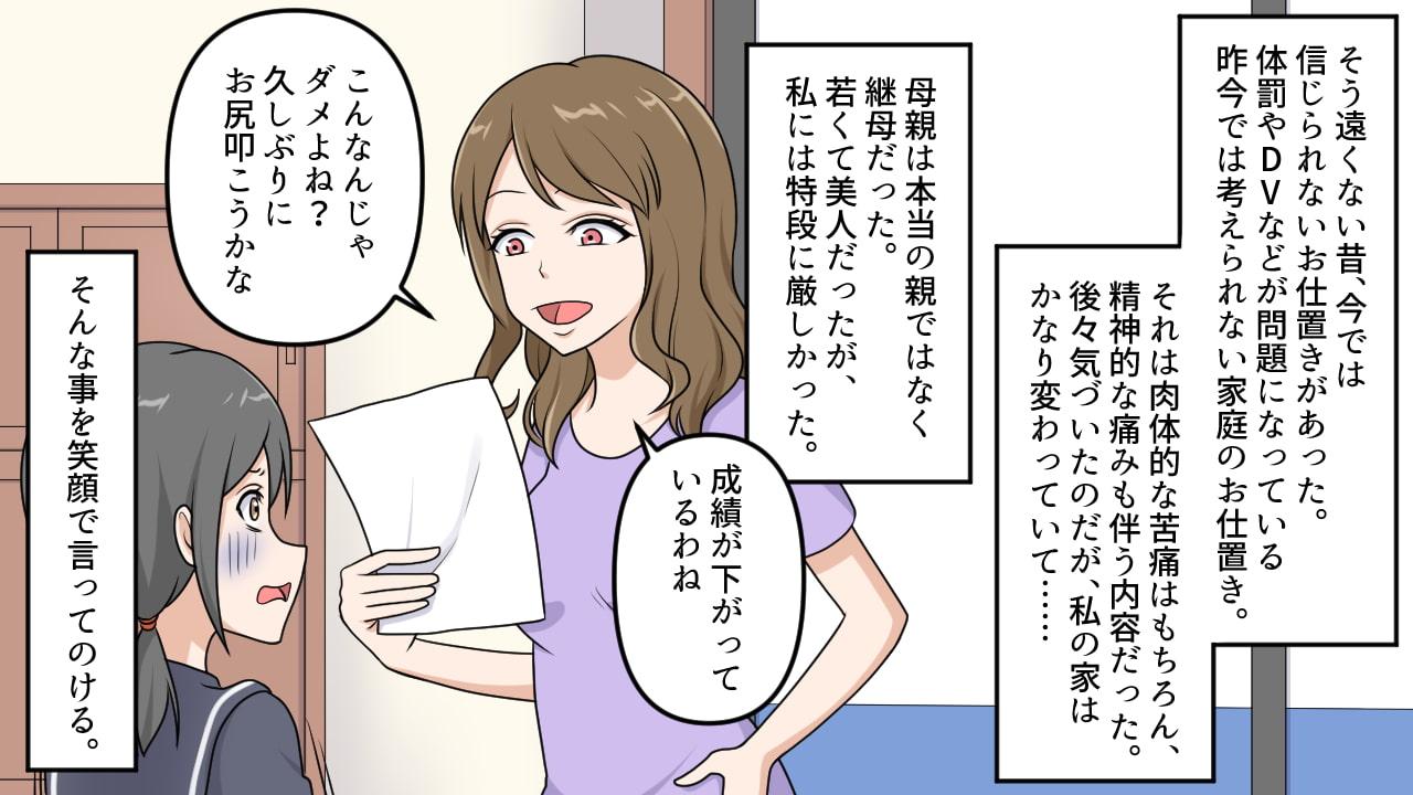<朗読と漫画セット>昭和のお仕置き1のサンプル画像1