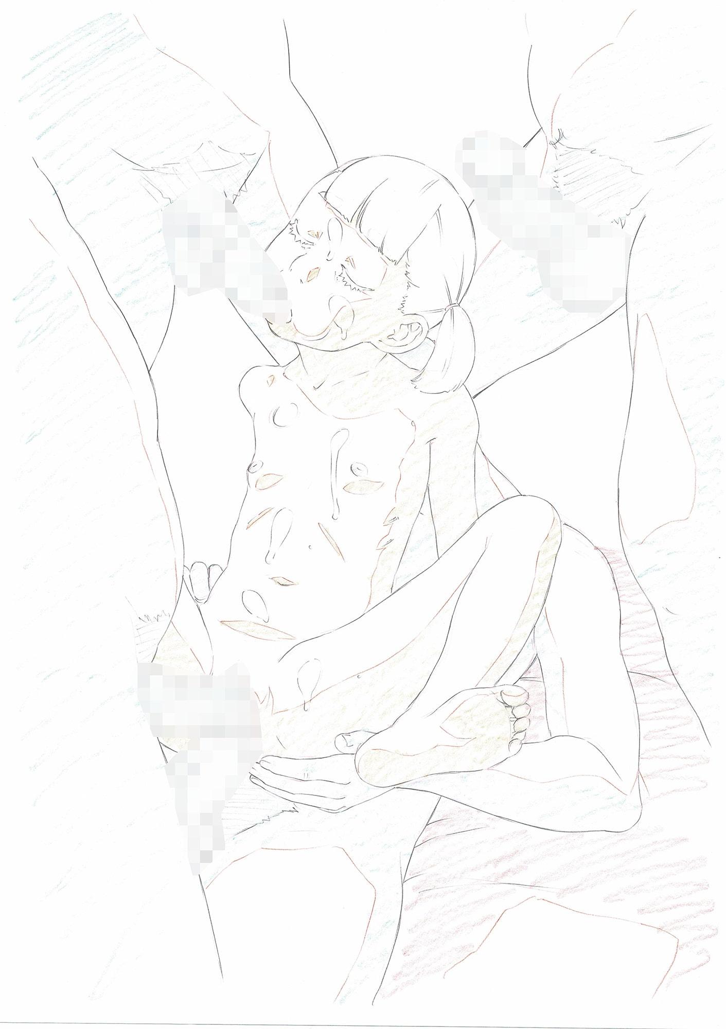 Practice Piece vol.09 ラフ原画習作集