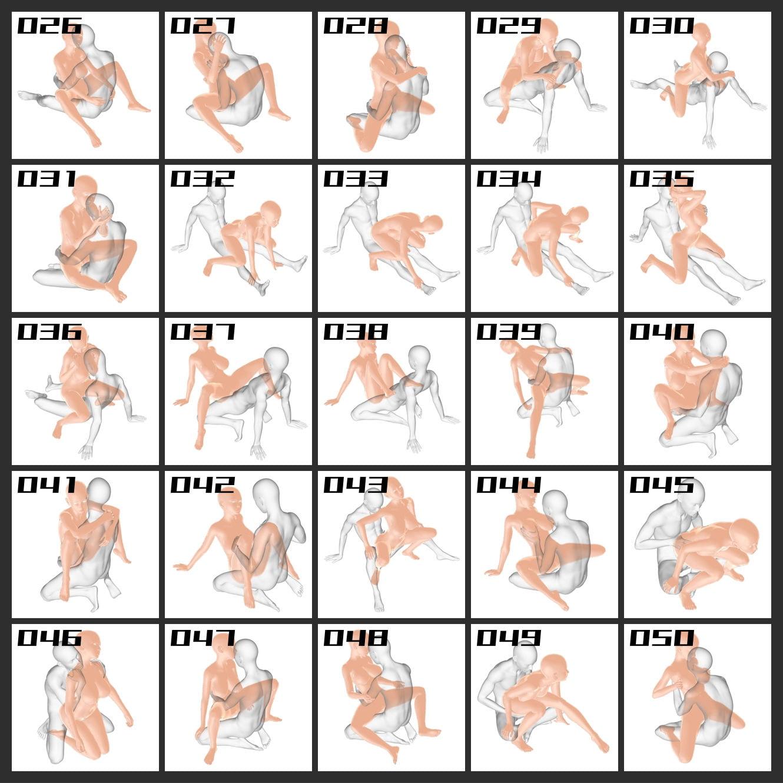 RJ331862 エロ絵師のためのポーズカット集 座位編 [20210616]