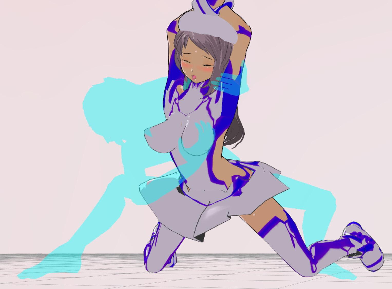 3Dカスタム少女改変モーション(バックモーション)SmallPack3