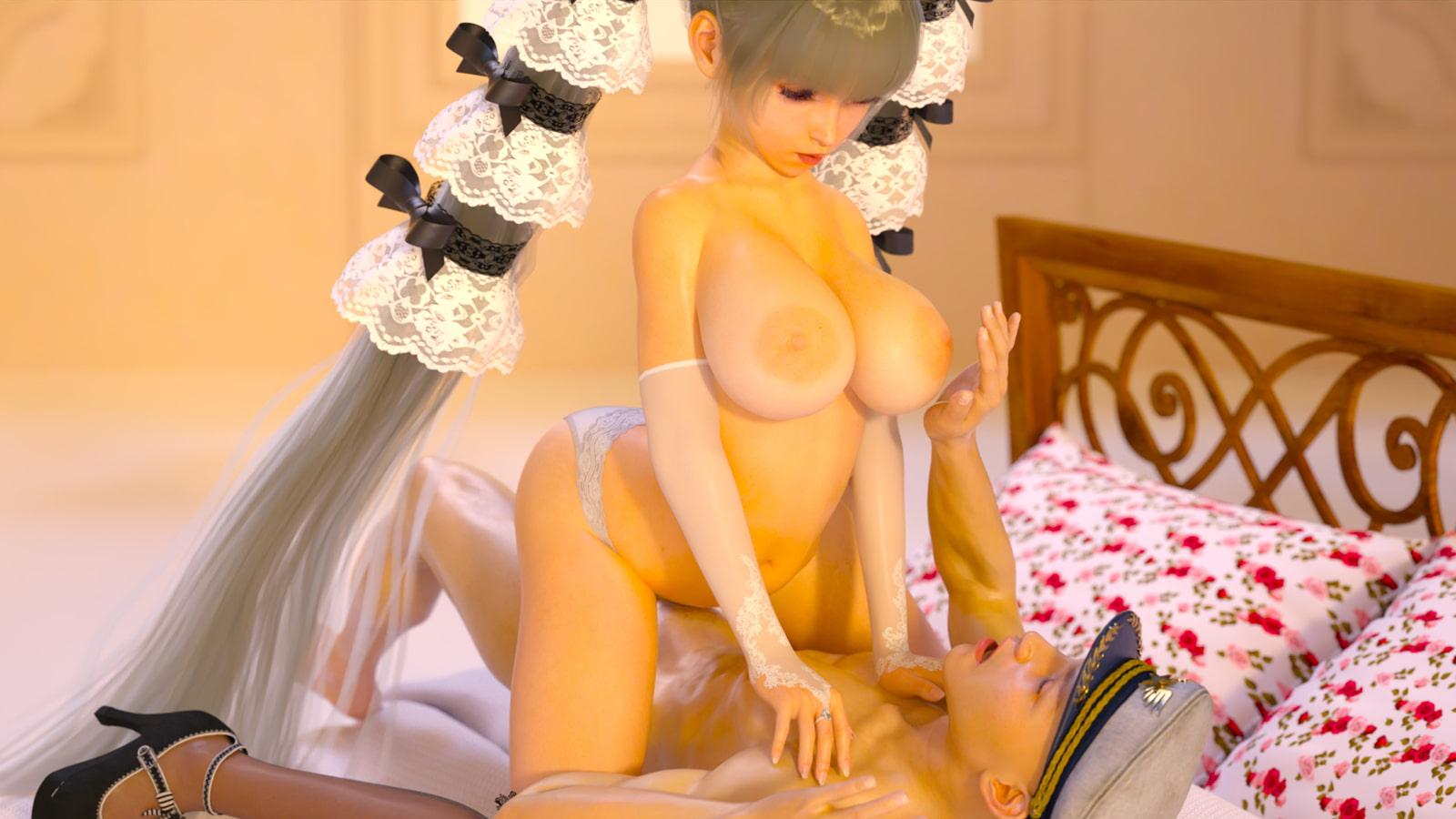 ゴスロリ爆乳メイドと指揮官11
