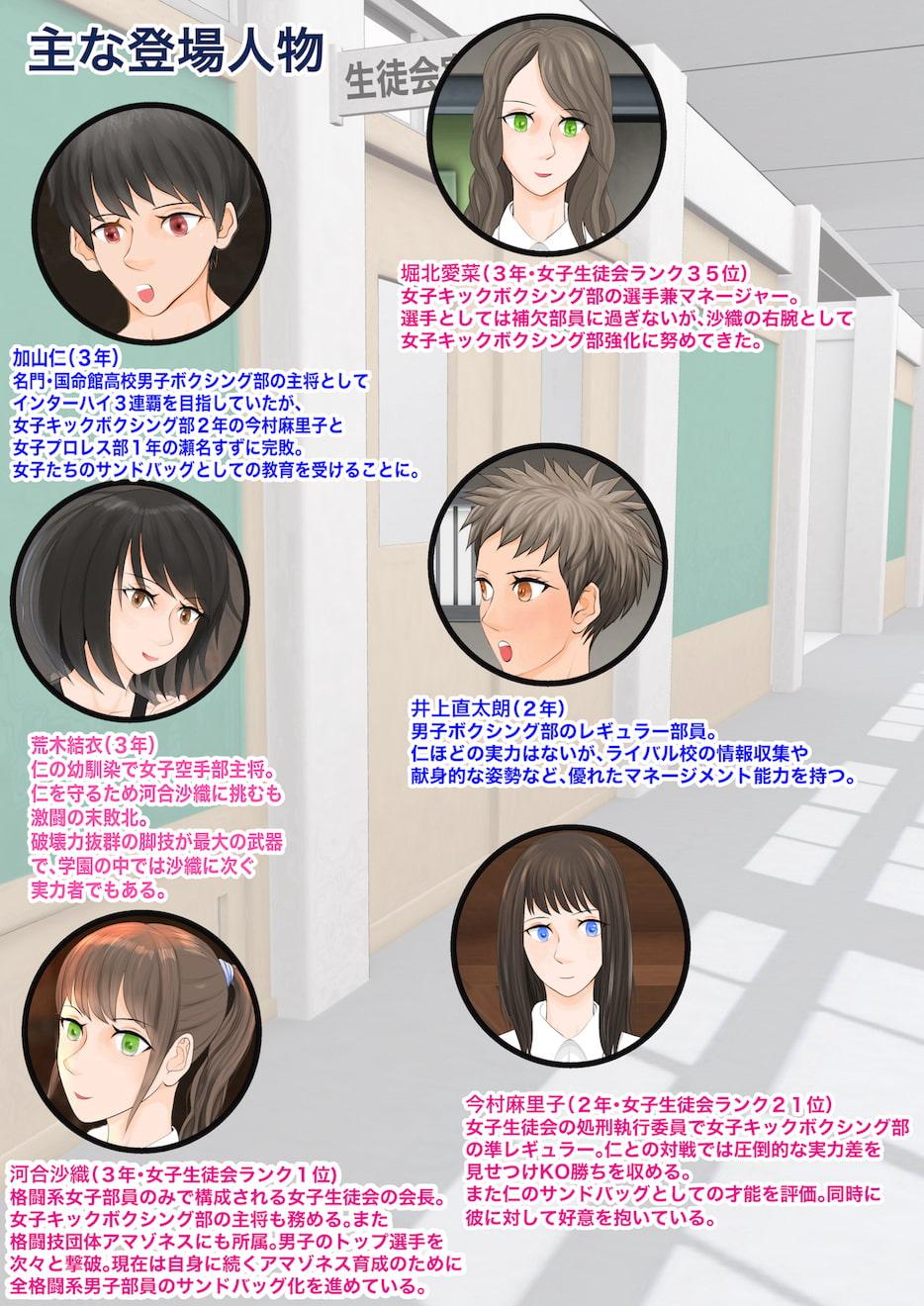 RJ333388 女子生徒会との闘い3〜屈辱のハンディキャップマッチ打ち砕かれた三つの星〜 [20210725]