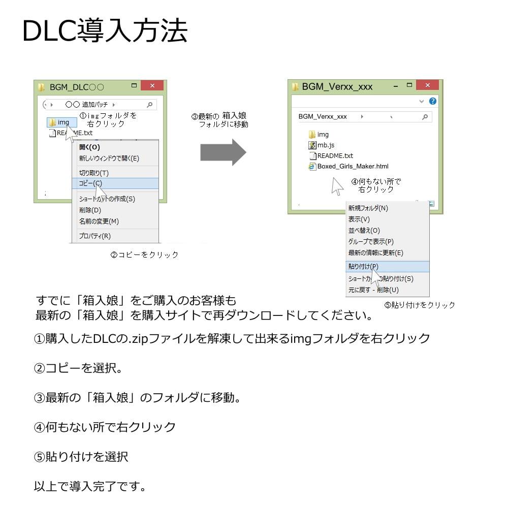 箱入娘 DLC09-11 りかちゃまパック