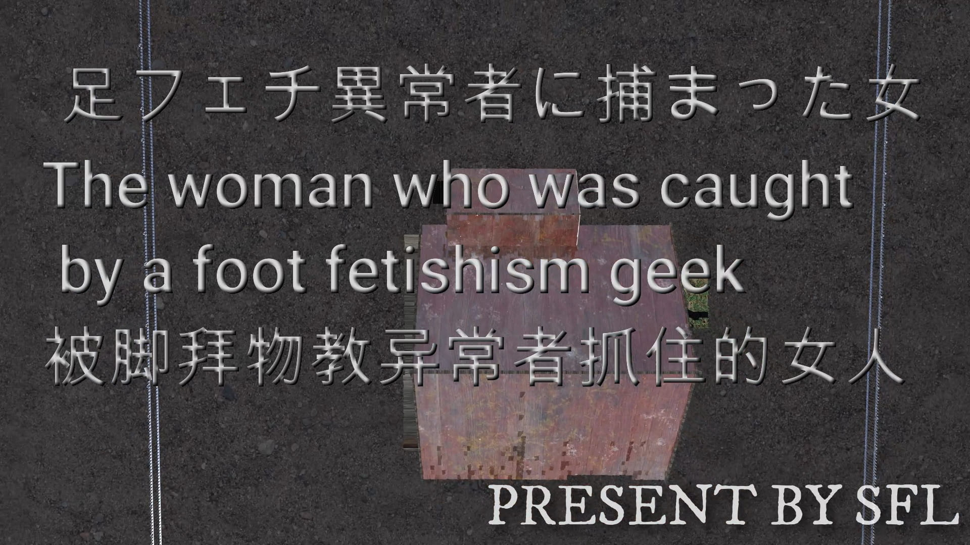 RJ334029 足フェチ異常者に捕まった女 The woman who was caught by a foot fetishism geek [20210704]