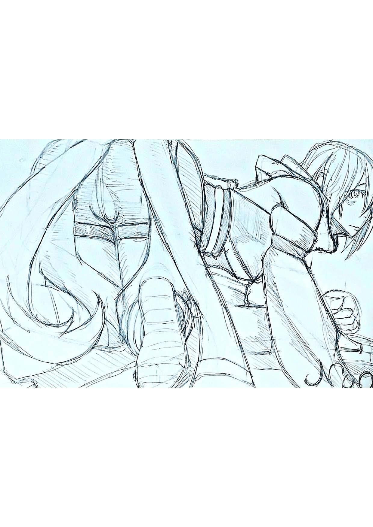 城咲Noa画集0.5〈落書きI編〉