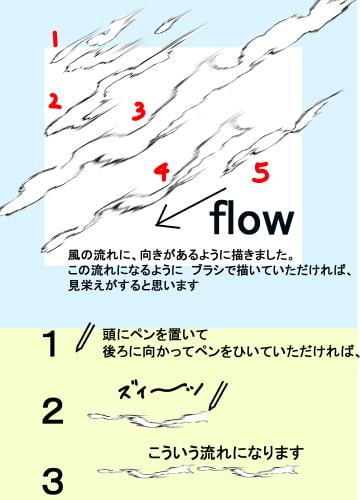素材をどうぞ『風の効果6パターンセット』