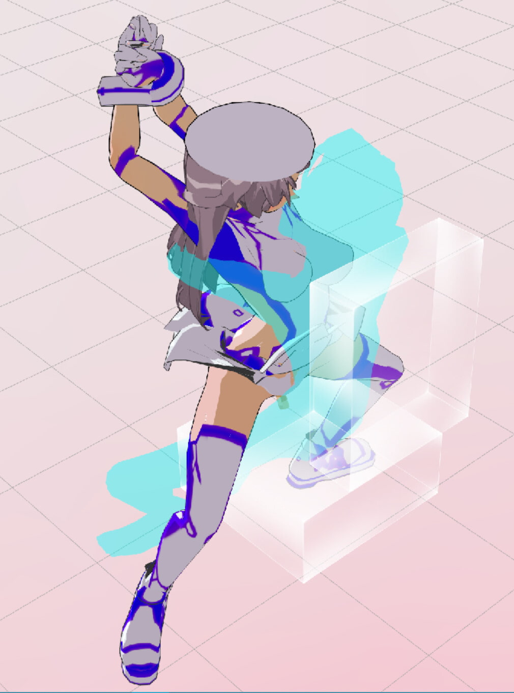 3Dカスタム少女追加モーション(座位モーション)SmallPack2