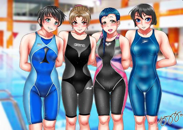 RJ334744 競泳水着集団凌辱・穢されたメドレーリレー [20210712]