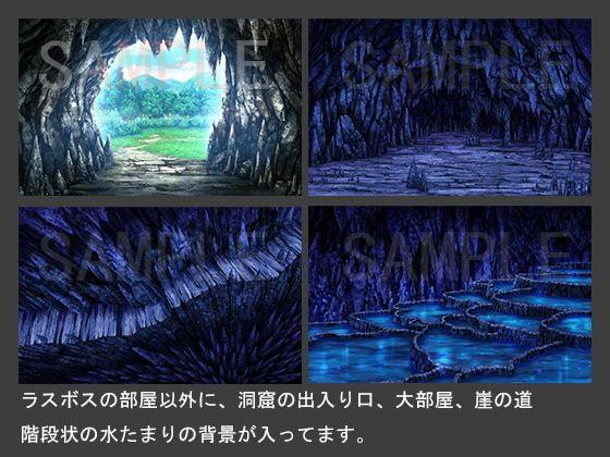 背景素材【洞窟2】