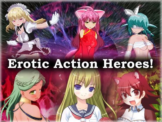 RJ335582 Erotic Action Heroes [20210718]