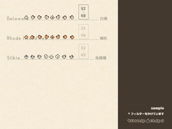 どうぶつキャラクターチップセットSIMPLE2(商品番号:RJ335964)