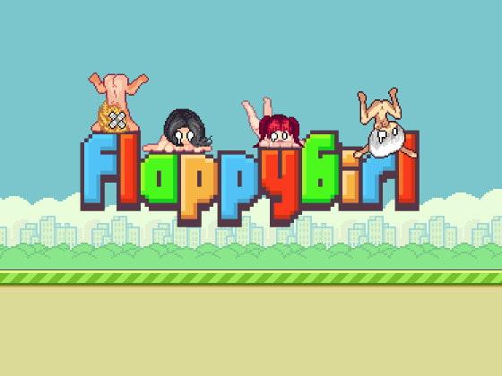 【新着同人ゲーム】Flappy Girlのトップ画像