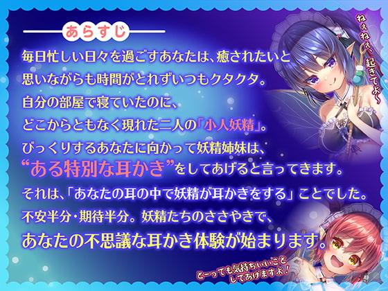 【フォーリーサウンド】小人妖精の不思議な癒され耳かきマッサージ~ささやきペロペロASMR~