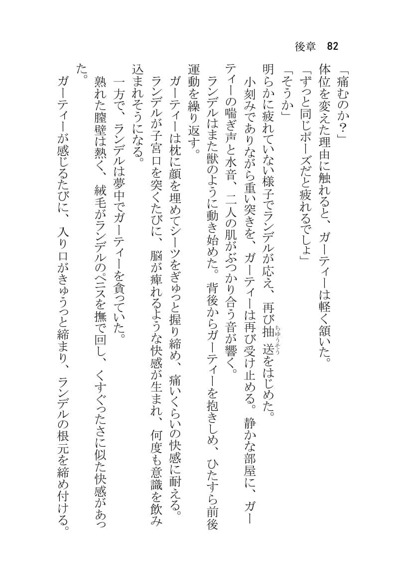 RJ336869 ガー×ラン 〜積極的なガーティーさんがランデル隊長の童貞を奪う本〜 [20210801]