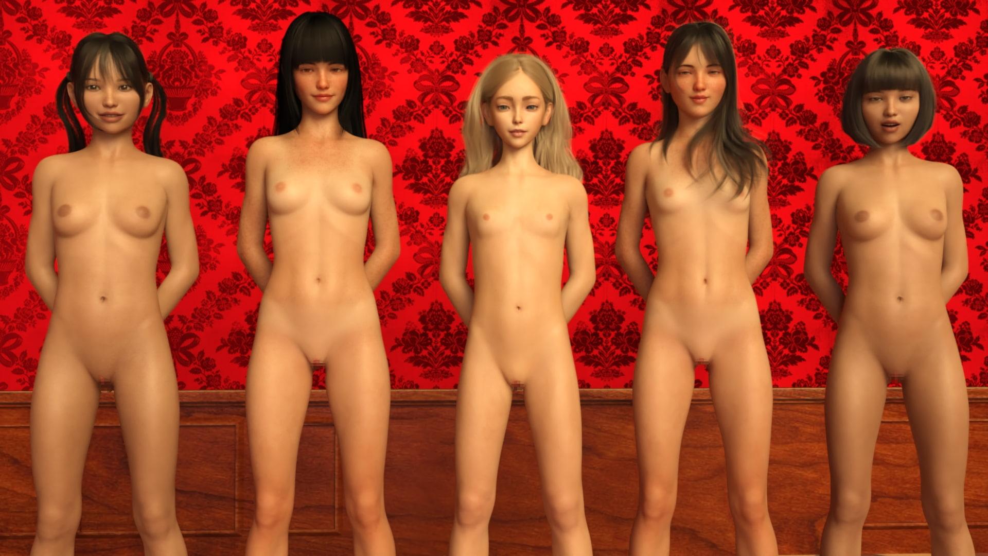 赤い部屋のアリスたち