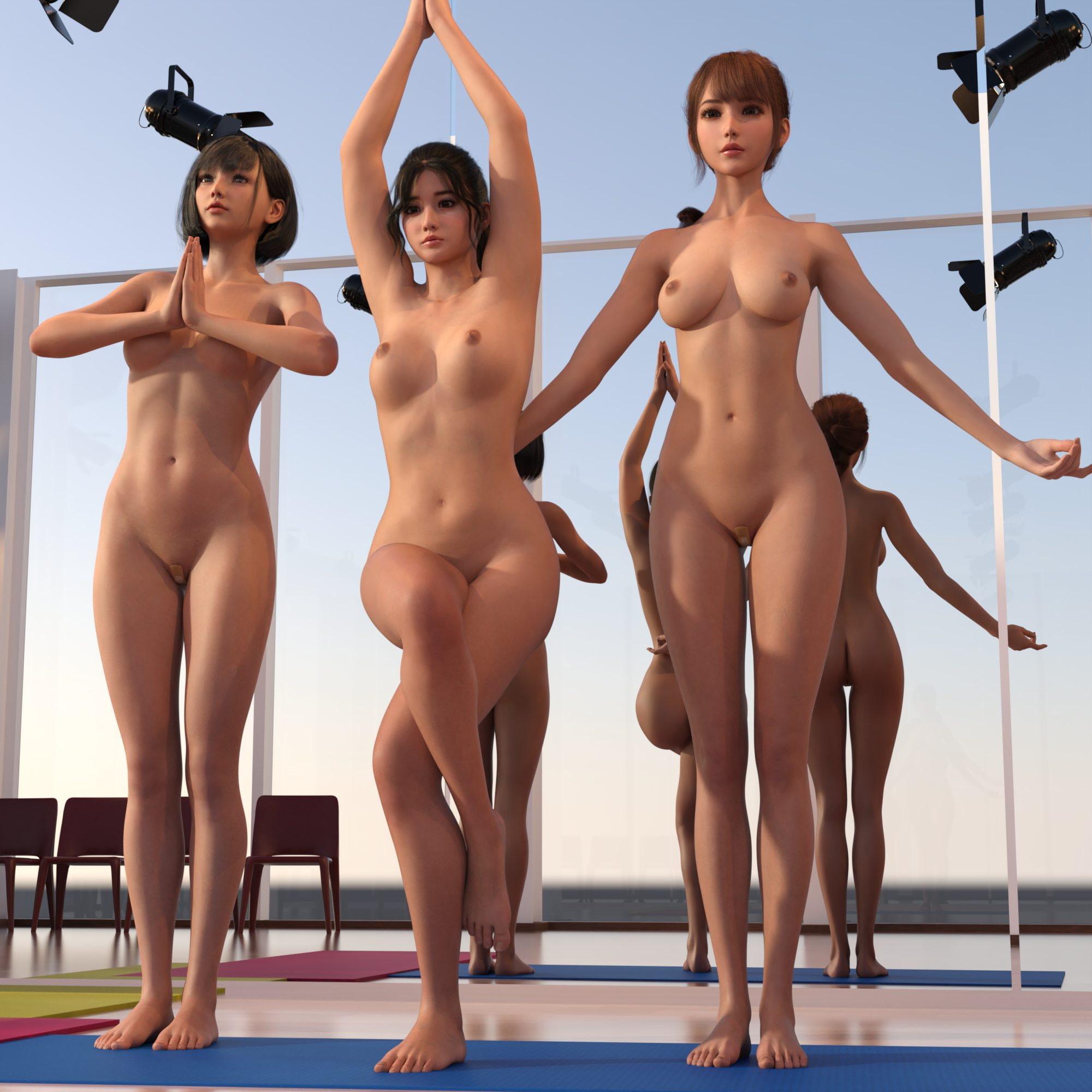 夏の全裸女体画像集 2021