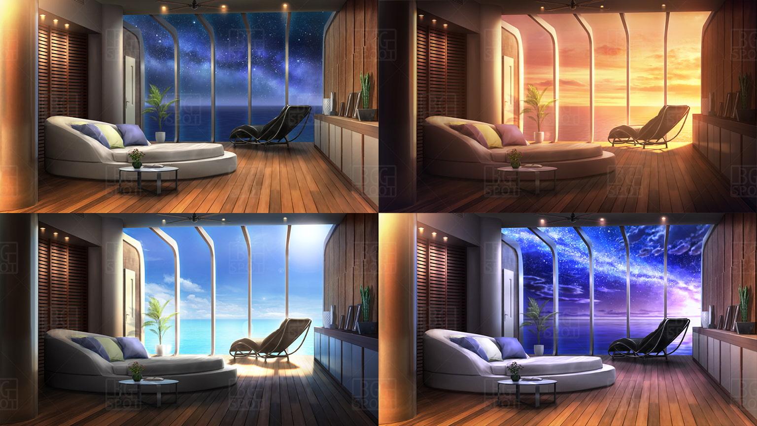 BG_星空の洞窟のレストラン