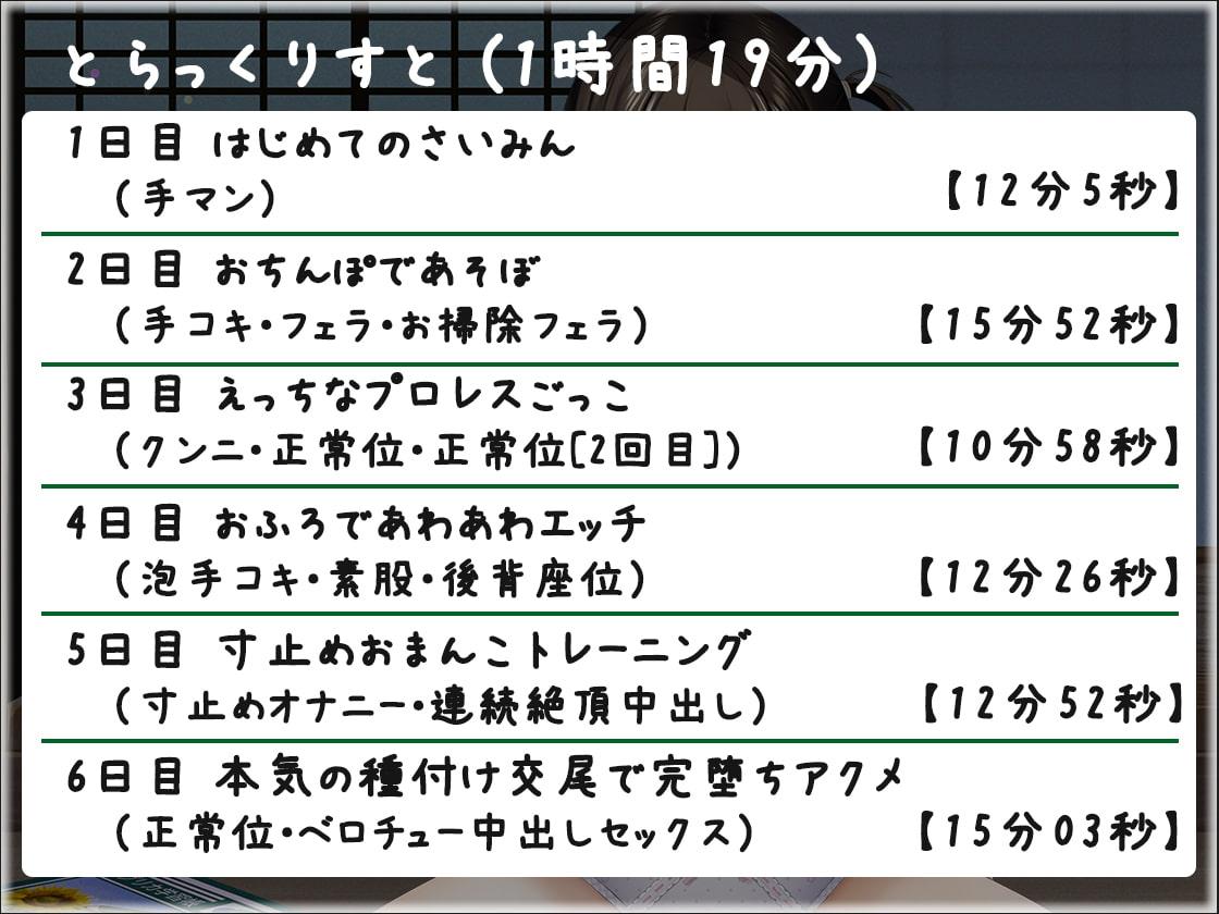【全編オホ声】オホ声ゆかちゃんの催眠日記【KU100】