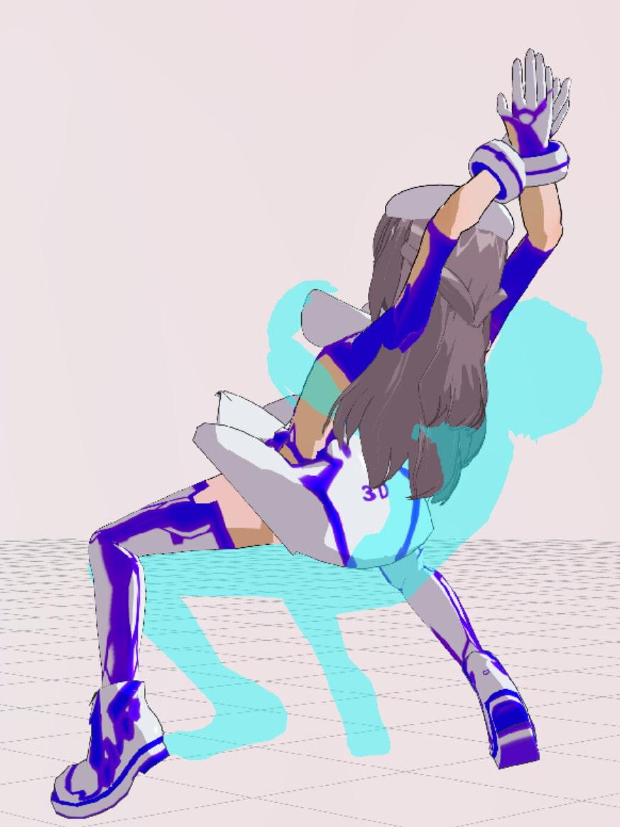 3Dカスタム少女追加モーション混在SmallPack3